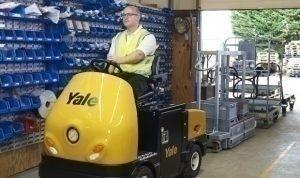 Yale propose deux nouveaux chariots tracteurs pour les environnements industriels